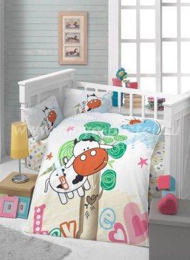 КПБ Tango Polletto PL1015-13 Ясли ранфорс в интернет-магазине Моя постель