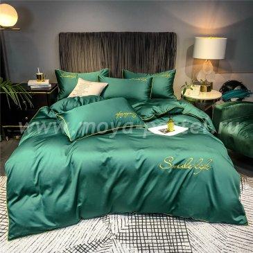 Постельное белье Сатин Однотонный с Вышивкой DHA002 в интернет-магазине Моя постель