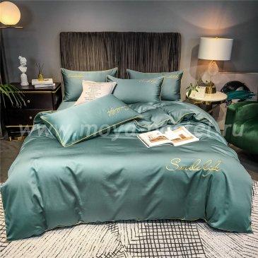Постельное белье Сатин Однотонный с Вышивкой DHA007 в интернет-магазине Моя постель
