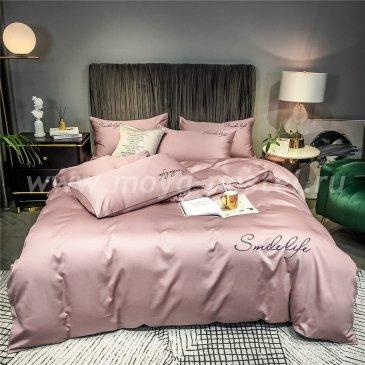 Постельное белье Сатин Однотонный с Вышивкой DHA008 в интернет-магазине Моя постель