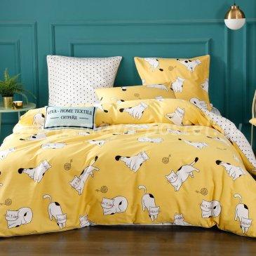 Комплект постельного белья Сатин Элитный на резинке CPLR024, семейный 180х200 в интернет-магазине Моя постель