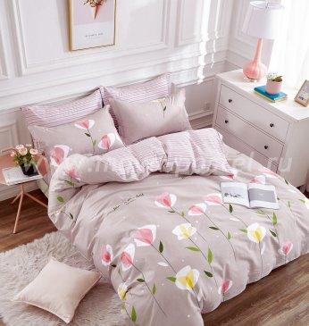 Twill евро 4 наволочки (стилизованные цветы) в интернет-магазине Моя постель