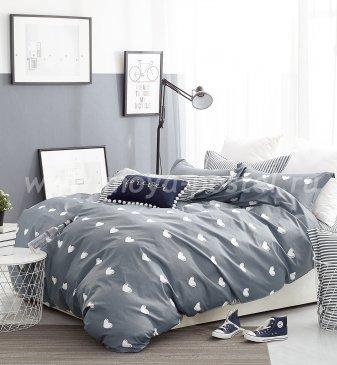 Twill 2 спальный TPIG2-376-70 (сердечки) в интернет-магазине Моя постель