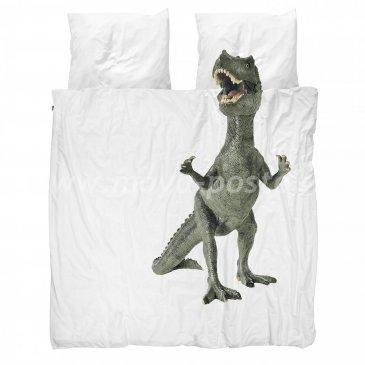 """КПБ """"Тираннозавр Рекс"""", евро размер в интернет-магазине Моя постель"""