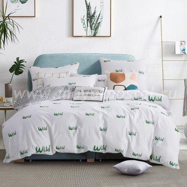 Комплект постельного белья Делюкс Сатин LR160 на резинке 180*200, двуспальный в интернет-магазине Моя постель