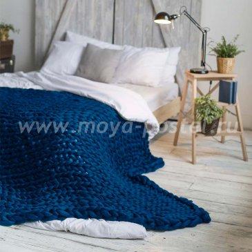Толстая пряжа Hygge Dome (100% шерсть) 140х200 Морская Волна в каталоге интернет-магазина Моя постель