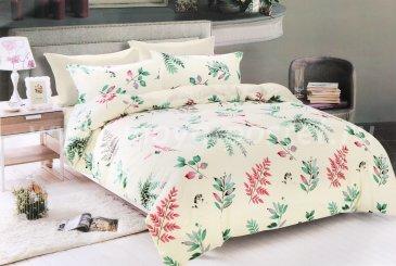 КПБ Bonne Journee (коллекция Fleur) Doux satin (евро) Nina  в интернет-магазине Моя постель