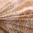 Бежевое постельное белье с растительным узором, евро в интернет-магазине Моя постель - Фото 3
