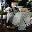 Двуспальный комплект постельного белья жаккард с вышивкой H021 в интернет-магазине Моя постель