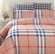 Евро комплект постельного белья в клетку C254, сатин (70*70) в интернет-магазине Моя постель - Фото 2