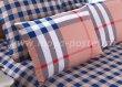 Евро комплект постельного белья в клетку C254, сатин (70*70) в интернет-магазине Моя постель - Фото 5
