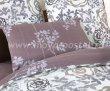 Евро комплект бежевого постельного белья сатин C261 (50*70) в интернет-магазине Моя постель - Фото 4