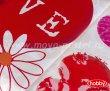 Постельное белье «VERA» из поплина, полуторное, красного цвета в интернет-магазине Моя постель - Фото 3