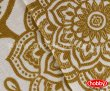 Постельное белье евро размера «ANTONIA» из сатина, золото в интернет-магазине Моя постель - Фото 4