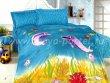 Постельное белье из сатина Kamilla Дельфин-3-5 в интернет-магазине Моя постель - Фото 3