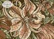 Коричневое покрывало на кровать Art Nouveau Lily, гобелен (260х270 см) - интернет-магазин Моя постель - Фото 4
